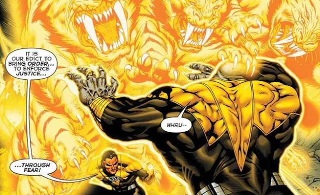 daftar Kekuatan Arkillo (DC Comics)