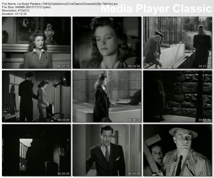La mujer pantera (1942) | Capturas de pantalla | Película | Cine clásico