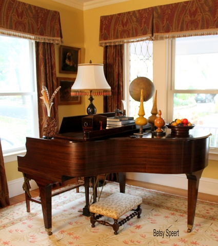 Betsy Speert's Blog: Transforming a Living Room for My ...
