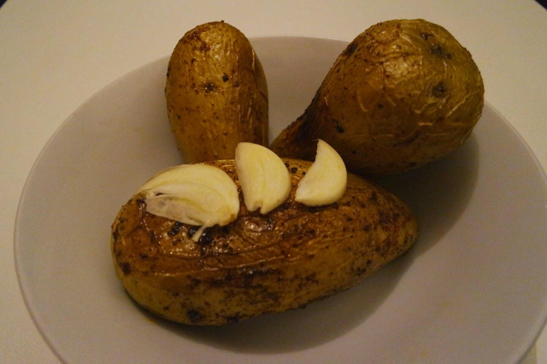 Recette pomme de terre au tandoori blog Délices à Paris.