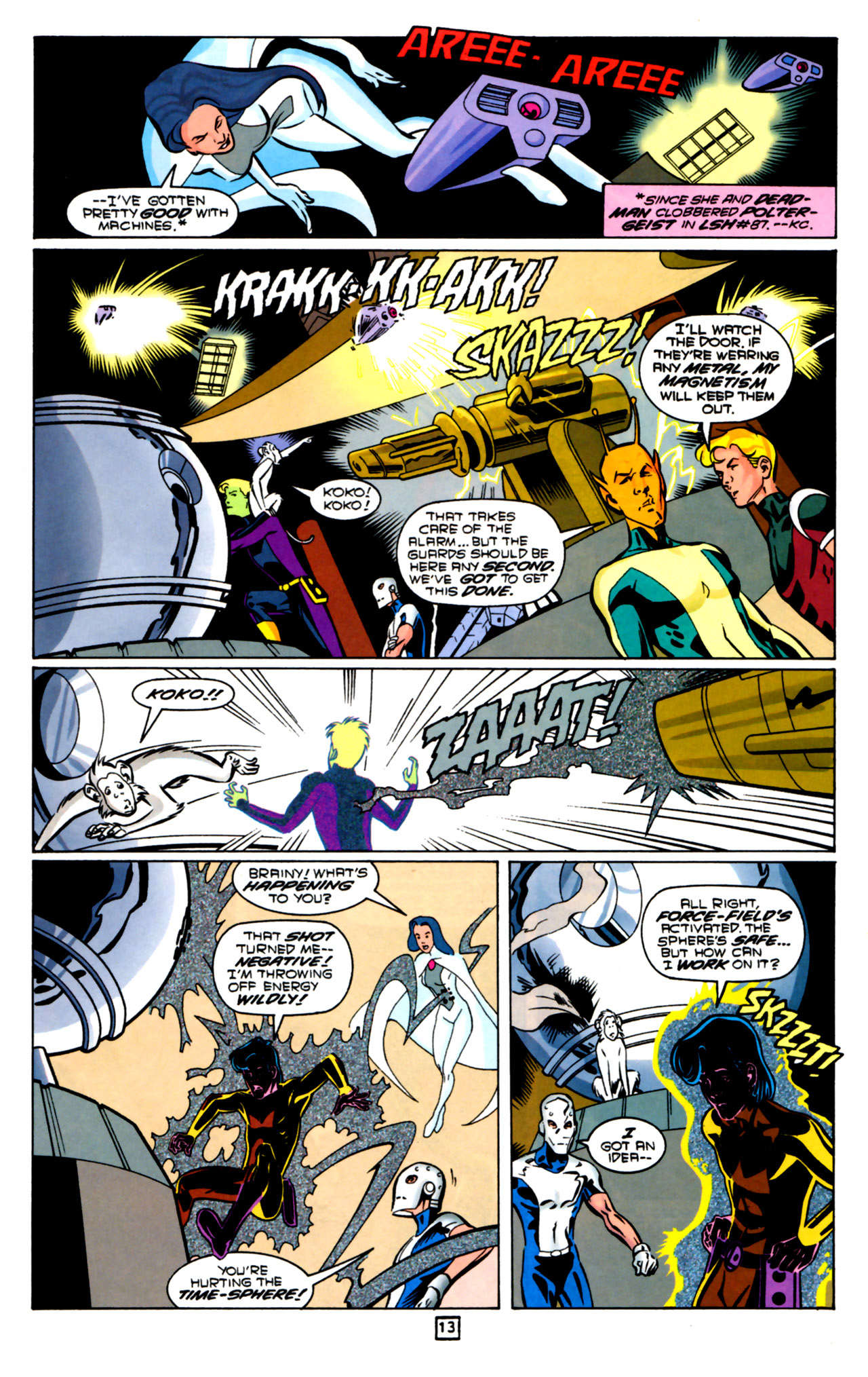 Legion of Super-Heroes (1989) 91 Page 12