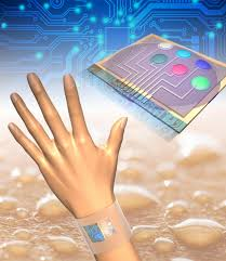 New device analyzes cortisol content in sweat