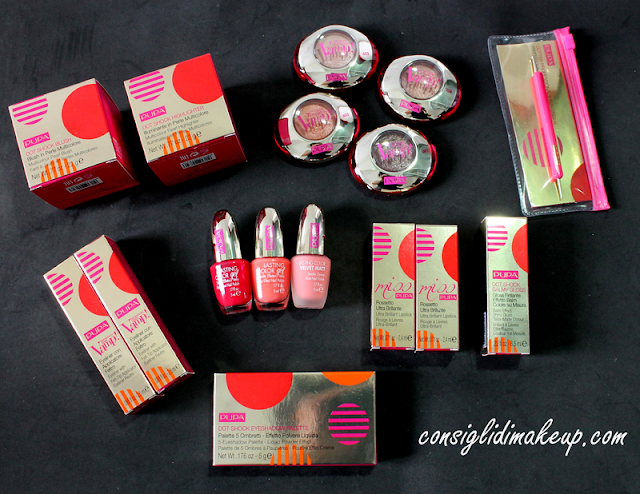 Review & Swatches: Collezione Primavera 2016 Dot Shock - Pupa Milano