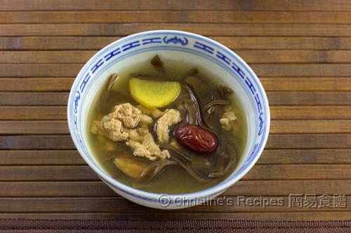 黑木耳紅棗湯 Wood Ear and Pork Soup02