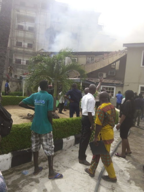 justice mohammed idris house fire