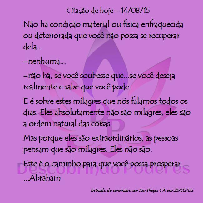 CITAÇÃ DE ABRAHAM