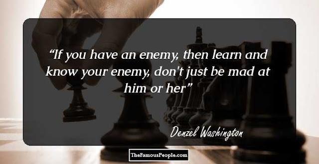 Best Denzel Washington quotes