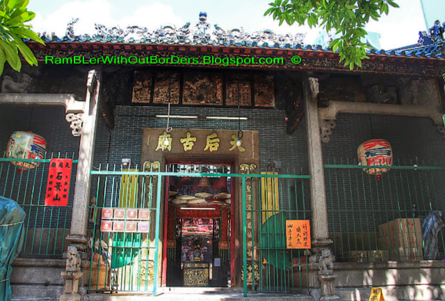 Tin Hau Temple, Yau Ma Tei, Kowloon, Hong Kong