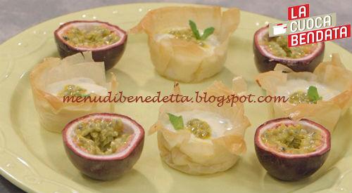 La Cuoca Bendata - Cestini della passione ricetta Parodi