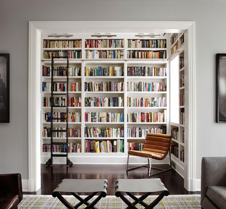 70 Desain Terbaik Perpustakaan Minimalis Di Rumah Rumahku Unik