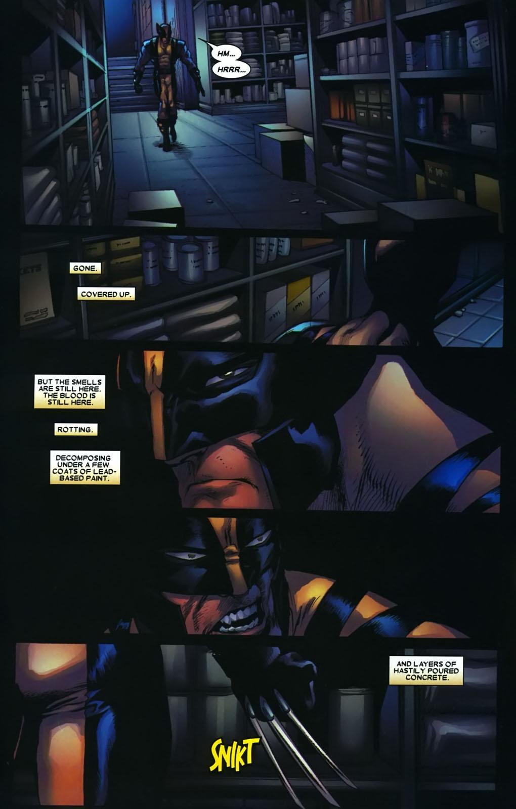 Read online Wolverine (2003) comic -  Issue #38 - 5