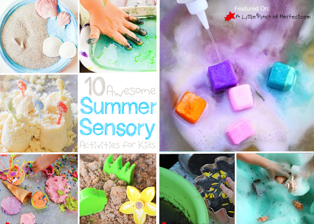 10 AWESOME SUMMER SENSORY PLAY ACTIVITIES FOR KIDS