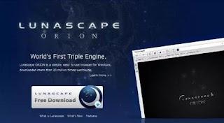 مستعرض, ويب, حديث, ومتطور, ويدعم, محركات, البحث, المُتعدده, Lunascape, اخر, اصدار