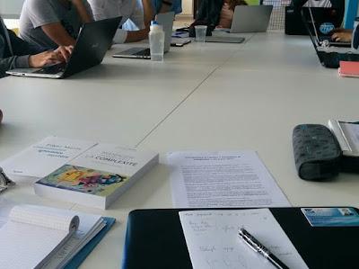 Une quinzaine d'étudiants réunis à l'UTT pour l'atelier formation / complexité du 8 juin