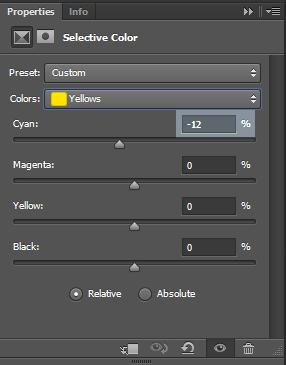 Yellow-color-settings