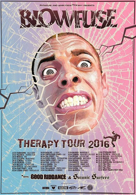 <center>Blowfuse announce Therapy Tour 2016</center>