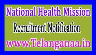 National Health MissionNRHM Odisha Recruitment Notification 2017