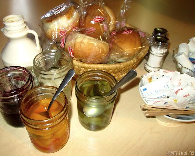 Les condiments fait maison de la cabane JaRo.