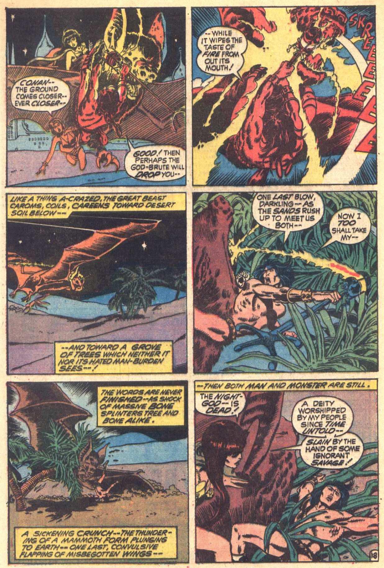 Conan the Barbarian (1970) Issue #6 #18 - English 19