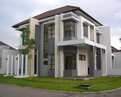Rumah Minimalis Dua Lantai Terbaru 2016