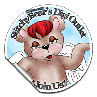 StitchyBear, Digital Stamp Outlet
