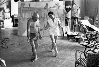Picasso trabajando