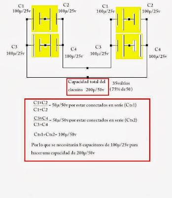 Para sustituir condensadores en circuitos eléctricos y electrónicos