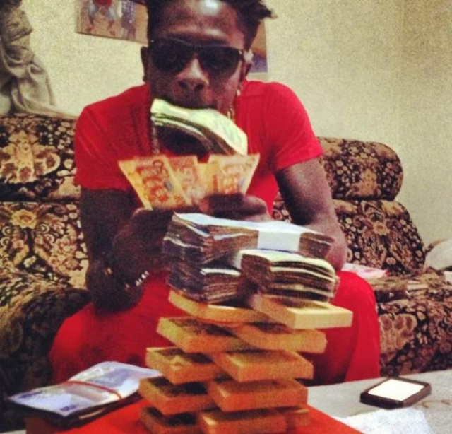 I have more money than any artist of my age in Ghana