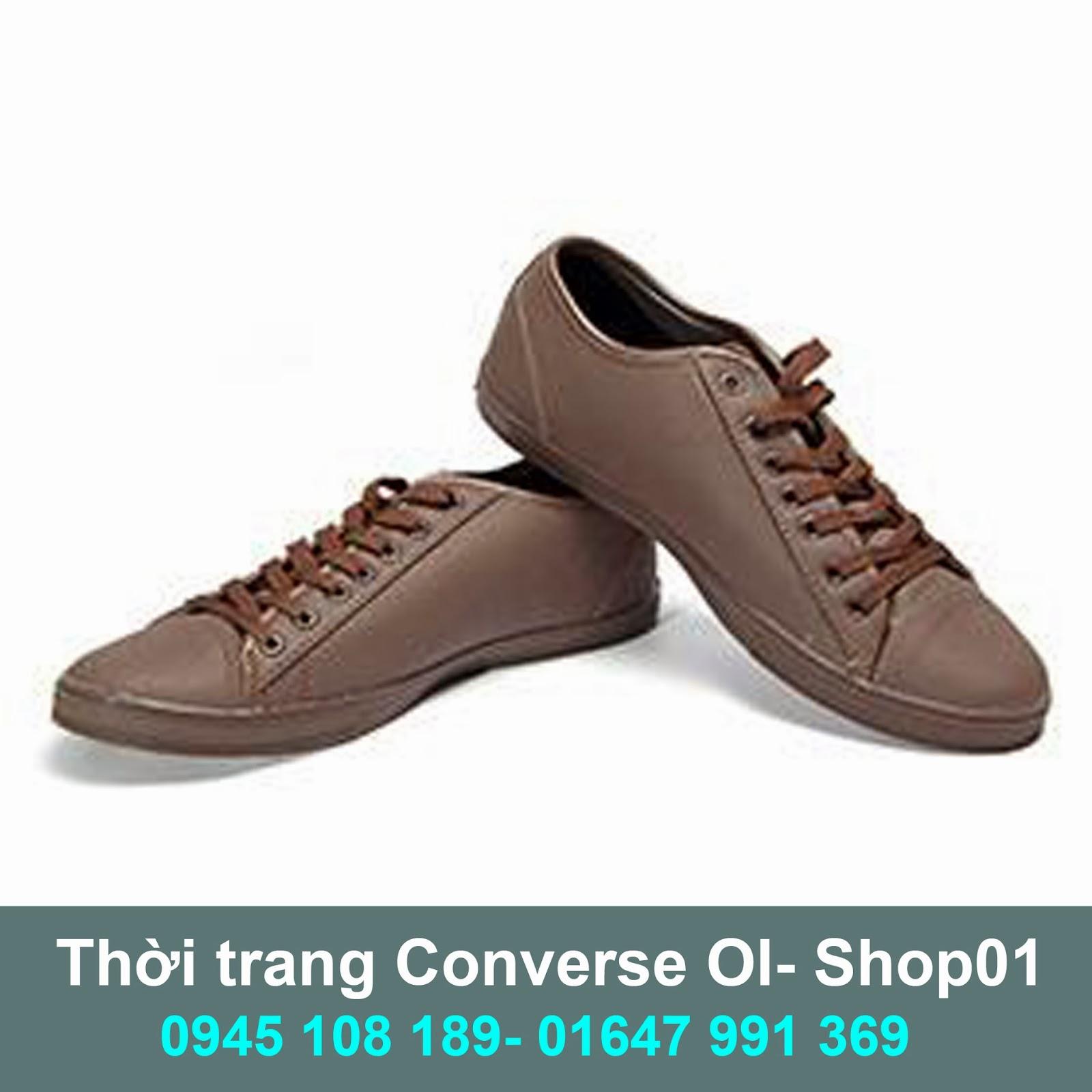 532021563354 Giày Converse Slim nâu