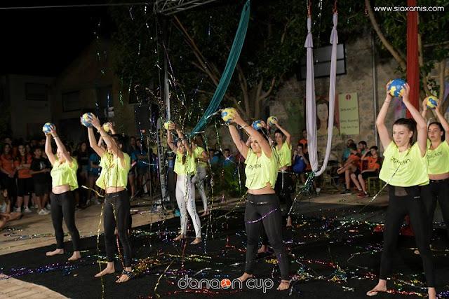 Γνώσεις, χορός και τραγούδι στο ατέλειωτο πάρτυ του Danaon Cup για τους μικρούς αθλητές και αθλήτριες (βίντεο)
