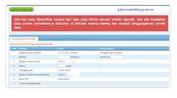 Login SIM PKB 2018 Untuk Cek Peserta PPG, DIKLAT PKB , DAN Info GTK 2018