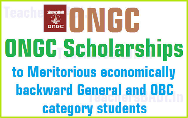 ONGC scholarships,Meritorious students,scholarships