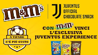 Logo Con M&M'S vinci una esclusiva Juventus Experience