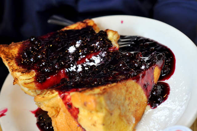 Lemon Ricotta French Toast - Trident Booksellers and Cafe - Boston, MA | Taste As You Go