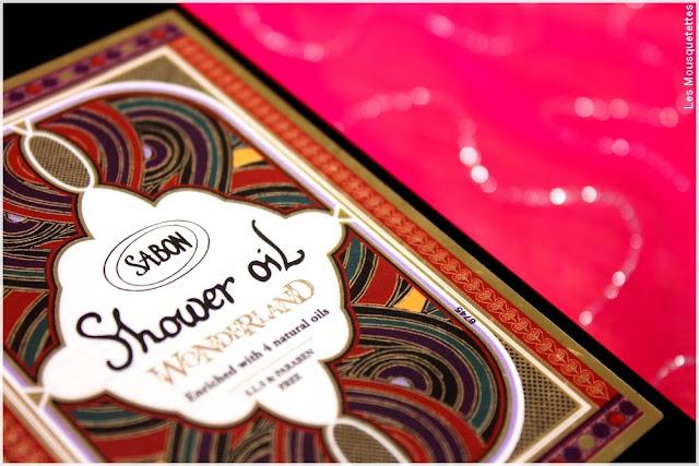 SABON, Huile de douche / Shower Oil - Blog beauté