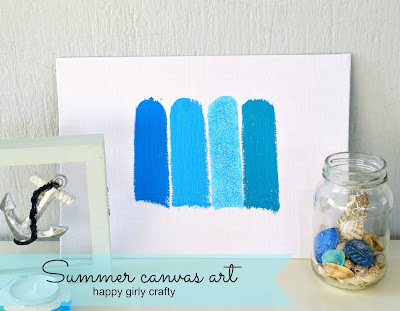 http://happygirlycrafty.blogspot.gr/2015/06/summer-striped-canvas-art-diy.html