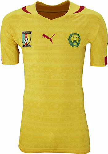 6630ef30e43 Cameroon 2014 World Cup Home and Away Kits Released - Footy Headlines