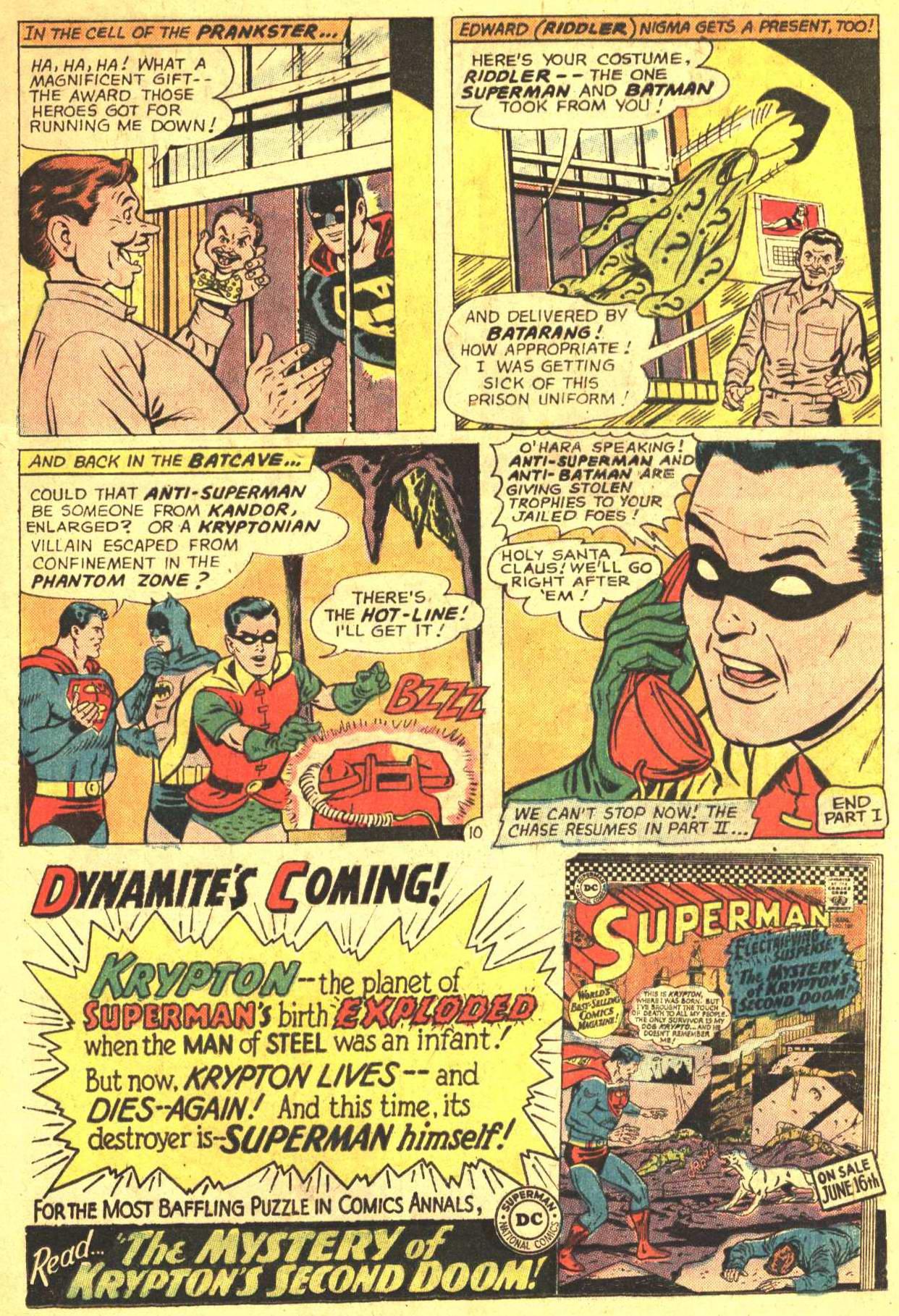 Read online World's Finest Comics comic -  Issue #159 - 13