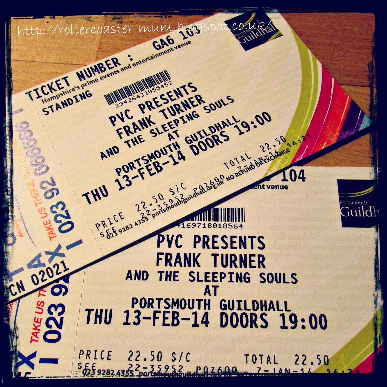 Frank Turner Portsmouth Guildhall tickets