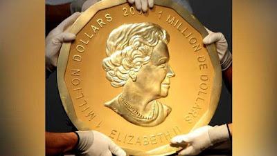 100Kg gold coin stolen