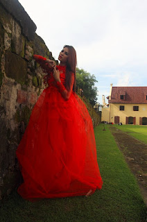Hunting konsep foto model cantik igo Cinta Rarung g model