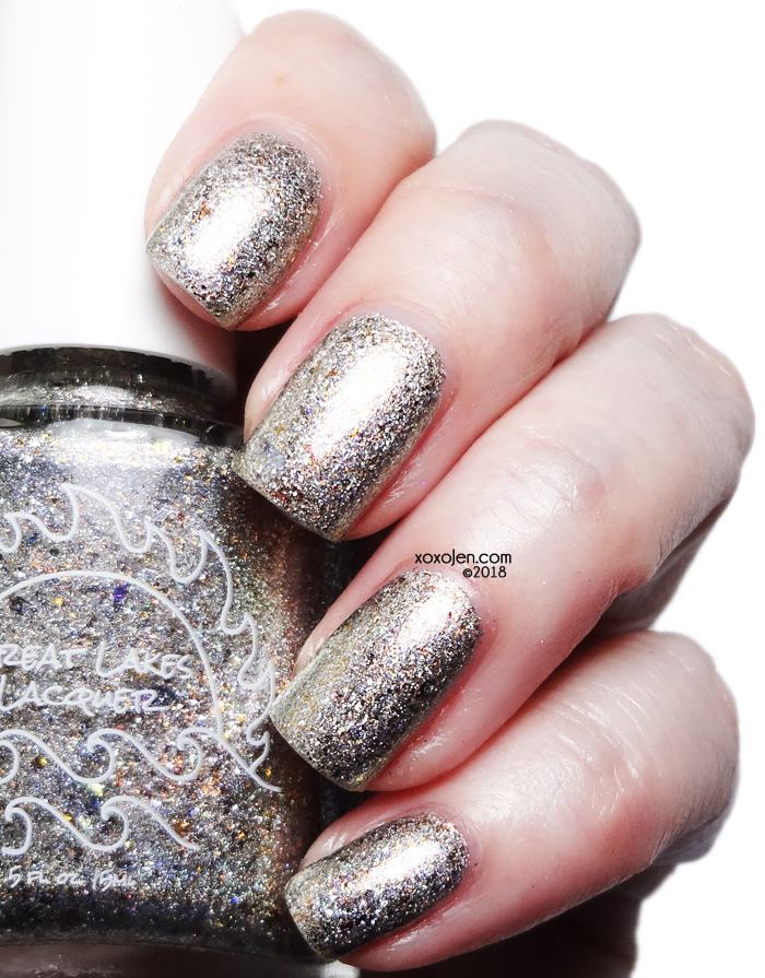 xoxoJen's swatch of Great Lakes Lacquer To The King
