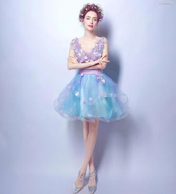 Imagenes de vestidos de 15 años cortos
