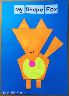 Animal Pictures Using Geometric Shapes For Kids