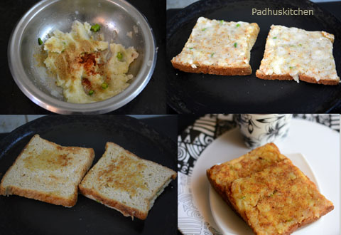 how to make potato sandwich
