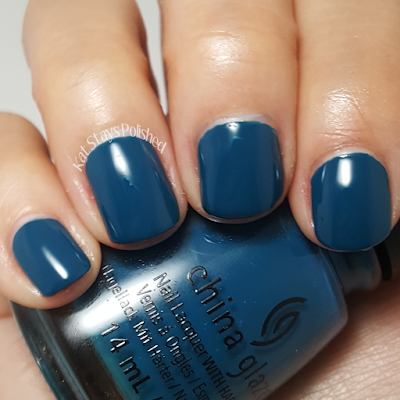 China Glaze Rebel Collection 2016 - Jagged Little Teal | Kat Stays Polished