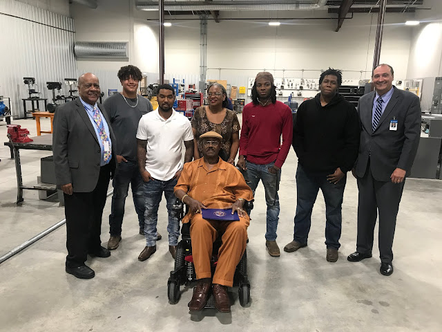 First African American Welding Student at Texarkana College Celebrated for Success