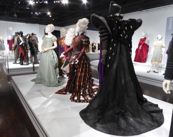 Alice Through Looking Glass costume exhibit