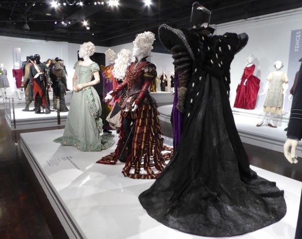 Alice Through Looking Glass costume exhibit