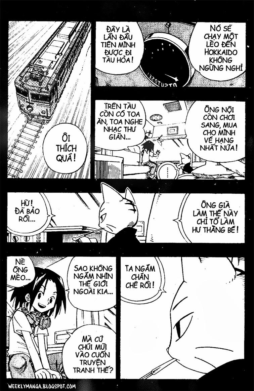 Shaman King [Vua pháp thuật] chap 163 trang 16